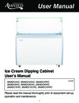 Avantco Dipping Cabinet Manual