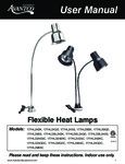 Avantco Flexible Heat Lamps - Carving Stations Manual