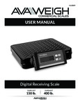 Avaweigh 334RS 150T-400T Digital Receiving Scales Manual