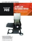 Backyard Pro Operation Instructions