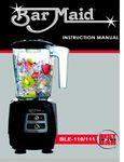 Bar Maid BLE 110/111 Manual