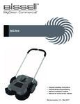 BG355 Outdoor Sweeper Manual