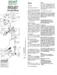 BG497 Sweeper Manual