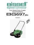 BG697 Sweeper Manual
