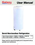 Galaxy Barrel Merchandiser Series Manual