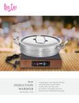 Bon Chef Induction Warmer Sell Sheet