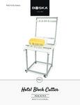 Boska Hotel Block Cheese Cutter Manual