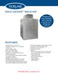 Kold Locker Walk-In Flyer