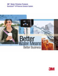 3M HP Water Filter Brochure