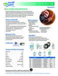 62% Alcohol Hand Sanitizer Gel Brochure