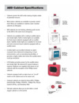 AED Cabinet Brochure