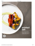 Front of the House Artefact Ash Brochure