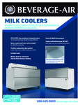 Beverage Air Milk Cooler Flyer 2020