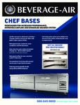 Brochure for Beverage-Air Chef Bases