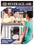 Brochure for Beverage-Air Refrigerated and Dry Bakery Display Cases