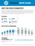 Brochure for Spike Brewing Fermenters
