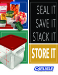Carlisle Squares Food Storage Containers Brochure