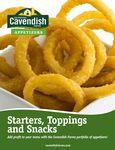 Cavendish Appetizers Brochure