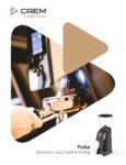 Crem Americas  2580C000206 65mm Burrs Grinder Brochure