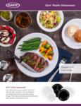 Dart & Solo Plastic Dinnerware Brochure