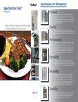 Delfield DEL500 Spec Line Brochure