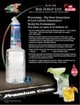 Finest Call 1 Liter Premium Lite Bar / Simple Syrup Reformulation