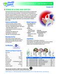 Foaming No Alcohol Hand Sanitizer Brochure
