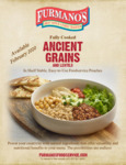 Furmano's Fully Cooked Ancient Grains Sellsheet