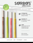 Sorbos Biodegradable Straws Sell Sheet