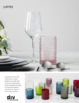 D&V Jupiter Glassware Collection
