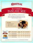 Krusteaz Buttermilk Pancake Mix Brochure