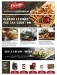 French's Ketchup & Worcestershire Brochure