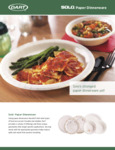 Solo & Bare by Solo Paper Dinnerware Brochure