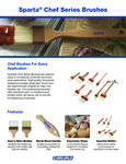 Sparta Chef Series Brushes Fact Sheet