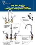 Concealed Base EasyInstall Faucet Sales Sheet