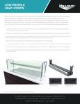Vollrath Low-Profile Heat Strips - Sell Sheet