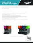 Vollrath Refrigerated Beverage Dispenser Sell Sheet
