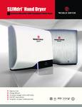 World Dryer L Series Brochure