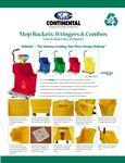 Extra - Mop Buckets, Wringers, & Combos Brochure