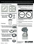 Sentry Cup Dispenser Instructions