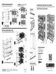 Cambro Full-Size Stationary Can Racks