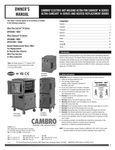Cambro UPCH1600 Manual