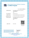 Catania Spagna Corporation National Program Certificate of Compliance Certified Organic