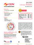 CDN GTS800X Specsheet
