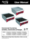Avantco Chef Series Countertop Manual