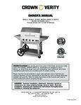 Crown Verity CV-CCB 48in Grill Lighting Manual