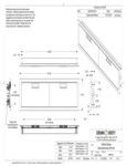 Crown Verity IBIXX-HD 24 30 36 42 48 Infinite Series Hoizontal Doors Line Drawing