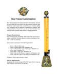 Customization Information