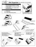 Delfin Three Shelf Merchandiser Instruction Sheet