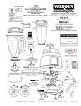 BB185, BB185S, NDG185 Parts Diagram